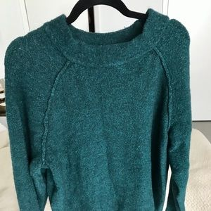 Forest Green Free People Sweater